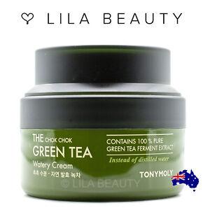 Tony Moly The Chok Chok Green Tea Watery Cream 60ml TonyMoly Ferment Extract