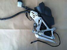 2009-2014 Yamaha YZF R1 Right Brake Foot Peg Rearset w/ Shield & Cylinder OEM