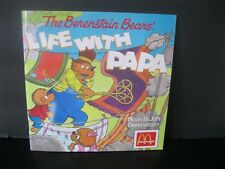 """Berenstain Bears  """"Life With Papa Storybook""""  Never Owned  McDonald's 1990"""