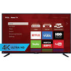 "Refurbished TCL 55"" Class 4K (2160P) Roku Smart LED TV (55US57)"