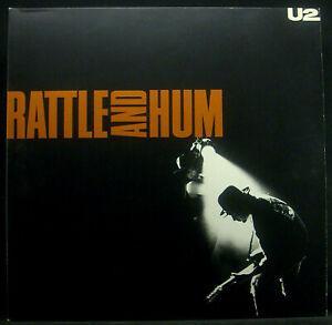 2erLP U2 - rattle and hum, FOC, OIS, GER, vg++/m-
