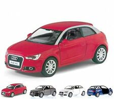 "Set of 4: New 5"" Kinsmart 2010 Audi A1 Diecast Model Toy Car PullAction 1:32"