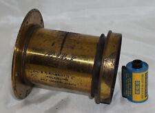 R&J Beck Brass 10x12 Rectilinear 16 Inch Focus Ultra Large Format Camera Lens
