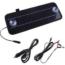12Volt 5Watt Smart Portable Solar Panel Power Battery Charger for Car boat Phone
