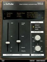 New Softube TSAR-1R REVERB Plug-In Virtual Processor Mac PC VST AU AAX
