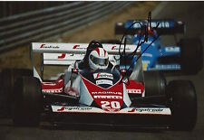 Johnny Cecotto Hand Signed 12x8 Photo Toleman Group F1 4.
