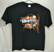 Nascar Jeff Burton T Shirt #31 3XL XXXL Black AT&T 2-Sided Graphic Impala
