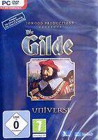 Gilde Universe - Gilde 1 + Addon und Gilde 2 + Addon für Pc Neu/Ovp/Deutsch