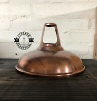 Cawston Solid Antique Copper Metal Shade Kitchen Pendant Lampshade Industrial
