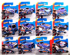 Hot Wheels 2013 HW RACING RACE TEAM série 1-10 + Blvd Cogneur 2014 + Tracker