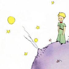Antoine de Saint-Excupery: Petit Prince III Keilrahmen-Bild 50x50 kleiner Prinz