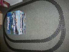 Playmobil Eisenbahn großes Schienenpaket mit 2 Weichen aus 4016