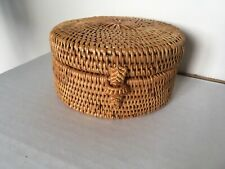 New Rattan Storage Box