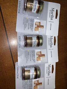 Martha Stewart Liquid Gilding Renaissance Gold 3 NIB