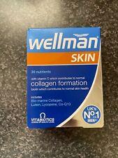Vitabiotics Wellman Skin Technology Health & Vitality Skin Care - 60 Tabs