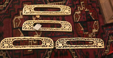VTG ASIAN CARVED BONE PURSE HANDLES-New Old Stock