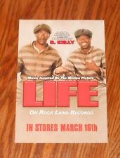 Life Movie Soundtrack Postcard 1999 Promo 6x4 R. Kelly Eddie Murphy