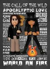 Inspired by Slash & Myles Kennedy Greeting Birthday Card
