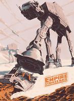Star Wars The Empire Strikes Back Poster Print 8x10 Inch Hologramed Skywalker