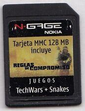 Nokia N-Gage: Techwars+Snakes & Film Reglas de Compromiso spanish version ngage