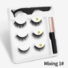 3D Mink False Eyelash Magnetic Eyelashes Magnet Eyeliner Fake Eyelash Waterproof