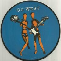 Go West - We Close Our Eyes 1985 7 inch picture disc vinyl single