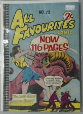 ALL FAVOURITES COMIC 116 PAGES COMIC BOOK NO. 22 THE LADY GIANT & THE BEAST #22