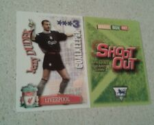 SHOOT OUT CARD 2003/04 (03/04) - Green Back -Liverpool - Jerzy Dudek