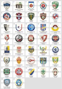 Badge Pin: European football clubs Slovakia