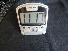 Sharper Image Lcd Travel Alarm Clock Rx-500