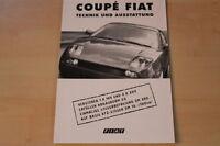 70673) Fiat Coupe - technische Daten & Ausstattungen - Prospekt 06/1998
