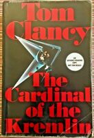Tom Clancy The Cardinal of the Kremlin A Super Rare SIGNED Advance Reader Copy