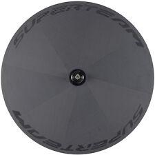 700C Disc Rear Wheel Superteam  Road Bike Clincher Carbon Wheels 3k/twill Weave