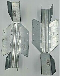 New 16 U-JOIST HANGERS 2x10 SIMPSON LSSU210 Strong-Tie Galvanized 18-Gauge ADJ