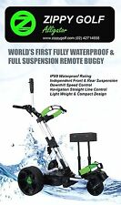 Zippy Golf IPX8 Waterproof Full Suspension Remote Golf Buggy $1199 Ebay Special