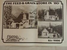 "Chooch Enterprises HO kit #9006 - ""The Feed & Grain Store""  NIB"