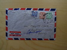 Cover Basrah Iraq By Air Mail Up To Copenhagen Only Par Avion Norway