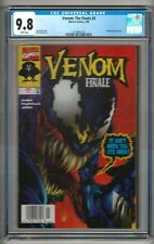"Venom: Finale #3 (1998) CGC 9.8 White Pages  Hama ""NEWSSTAND"" - RARE  1st Census"
