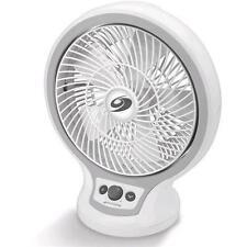 Jarden Bdf1011a-gu Bionaire 9in Infinite-speed Oscillating Table Fan, White