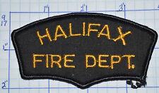 CANADA, HALIFAX FIRE DEPT NOVA SCOTIA VINTAGE PATCH