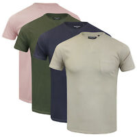 Mens T Shirt Brave Soul Short Sleeved Crew Neck Plain Designer Arkham Top S-XXL
