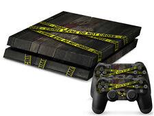 SONY PS4 PlayStation 4 SKIN Design Adesivo Pellicola Protettiva Set - CRIME