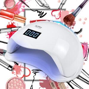 Sun 5 48W 24 LED Nail Lamp Professional UV Nail Dryer Gel Polish Curing Light