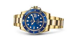 Rolex Submariner 116618LB Wrist Watch for Men