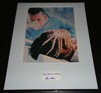 Ian Holm Signed Framed 16x20 Photo Poster Display Alien