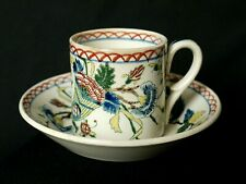 Tasse à café en faïence de Gien XIX° à la corne d'abondance