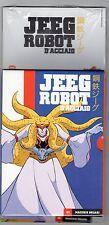 dvd JEEG ROBOT D'ACCIAIO numero 02 MACCHIE SOLARI con COFANETTO