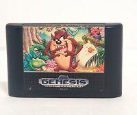 Sega genesis Taz- Mania 16bit #670-2170