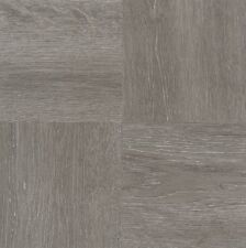 Vinyl Floor Tiles Self Adhesive Peel And Stick Gray Grey Wood Flooring 45pc