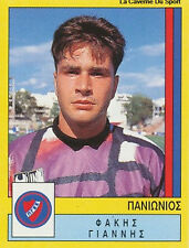 N°306 JIANNIS FAKIS PANIONIOS GREECE PANINI GREEK LEAGUE FOOT 95 STICKER 1995